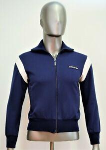 Veste survêtement ADIDAS vintage bleu années 80 taille M 168