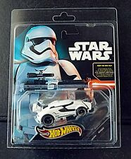 Hotwheels COMIC CON  Star Wars Stormtrooper Real Rider Car SOLD OUT