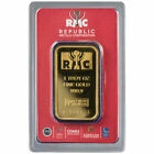 ON SALE 1 oz RMC Gold Bar New w Assay