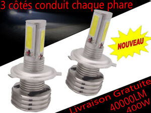 CREE-KIT-AMPOULES-LED-H11-H4-H7-400W-40000LM-LUMENS-6000K-BLANC-FEU-PHARE-XENON