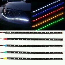 2pcs Waterproof 30cm Flexible LED Car Strips12V 5W Daytime Running lights blue