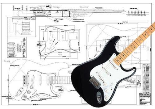 Stratocaster-Style Hardware Pickups /& Electronics Kit