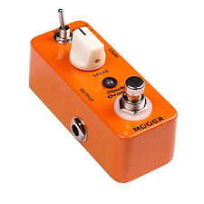 New Mooer Ninety Orange Analog Phaser Micro Guitar Effects Pedal!!