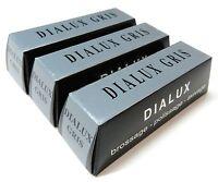 Dialux Polishing Compound Gray Dialux Gris Platinum White Metal Polish 3 Bars