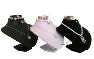Schmuckbüste Dekobüste Für Schmuckset Ohrring Armband Halsketten Ring H19,50cm Extrem Effizient In Der WäRmeerhaltung