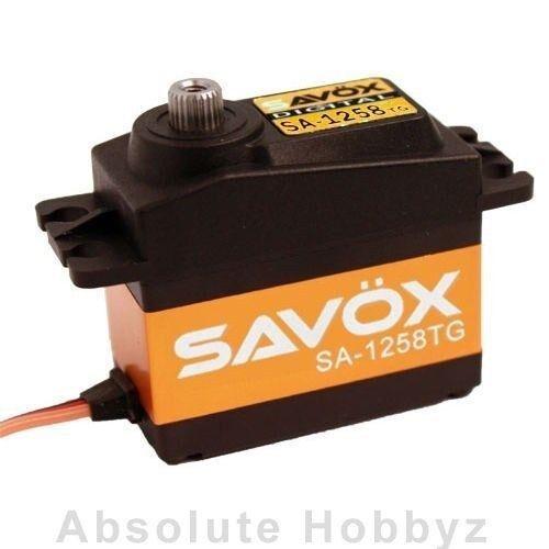 Savox sa-1258tg Super Speed Titanium Gear Servo Digital-sav-sa-1258tg