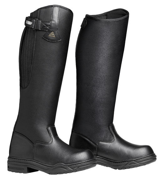 Mountain Horse Rimfrost Rider botas, Señoras Wide Fit III