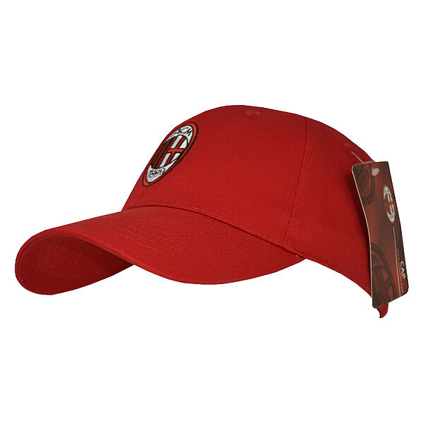 AC Milan Football Club Soccer Team Red Baseball Cap Hat Official Licensed  for sale online  3e9b37c9dc41