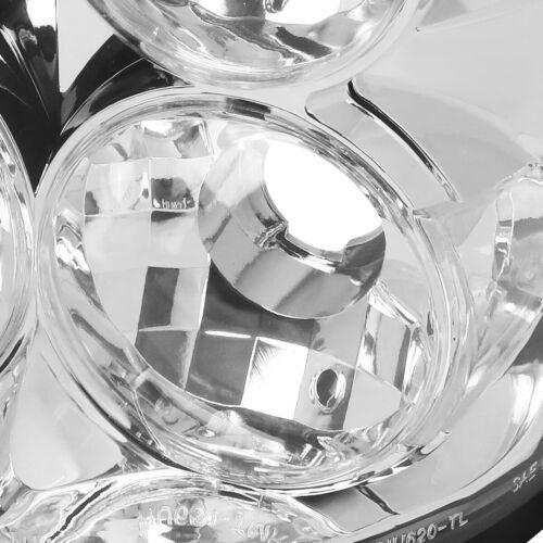FOR 04-08 FORD F150 FLARESIDE PAIR CHROME HOUSING TAIL LIGHT BRAKE//REVERSE LAMPS