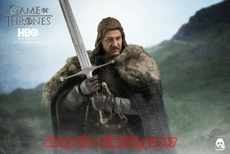 Threezero 1 6 Scale Game Of Thrones Thrones Thrones Lord Eddard of House Stark Normal version 4359f0