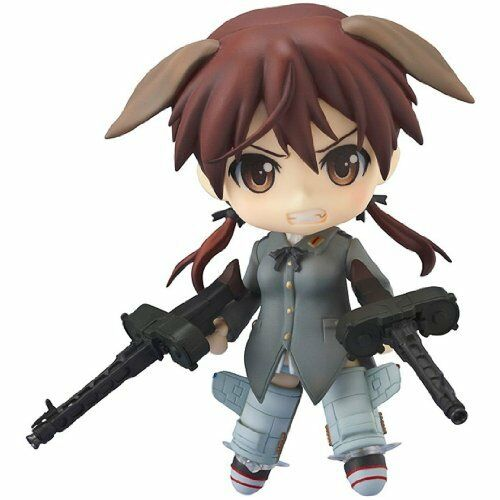 Strike Witches Nendoroid PVC Action Figure Gertrud Barkhorn 10 c