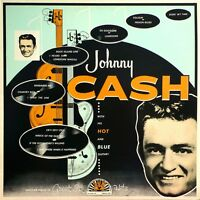 Johnny Cash And His Hot And Blue Guitar - Sealed Classic Lp Sun Repro
