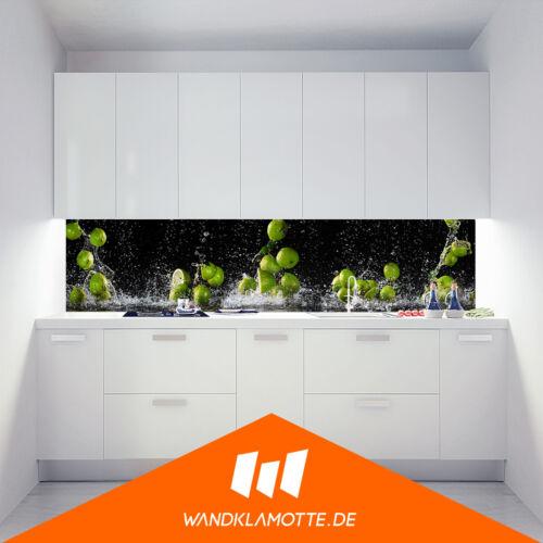 Kitchen Retro Wall Aluminium Composite Cooker Splash Guard Lime Dance
