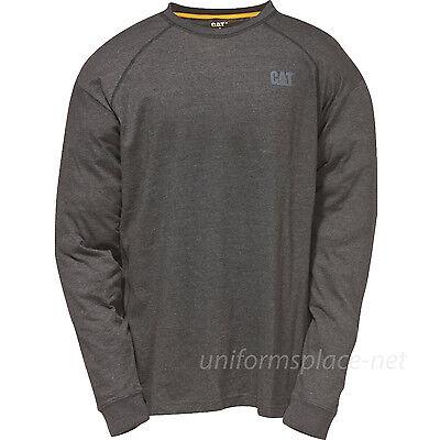 Caterpillar T shirt Men CAT Performance Wicking Long Sleeve T-Shirt Crew 1510467