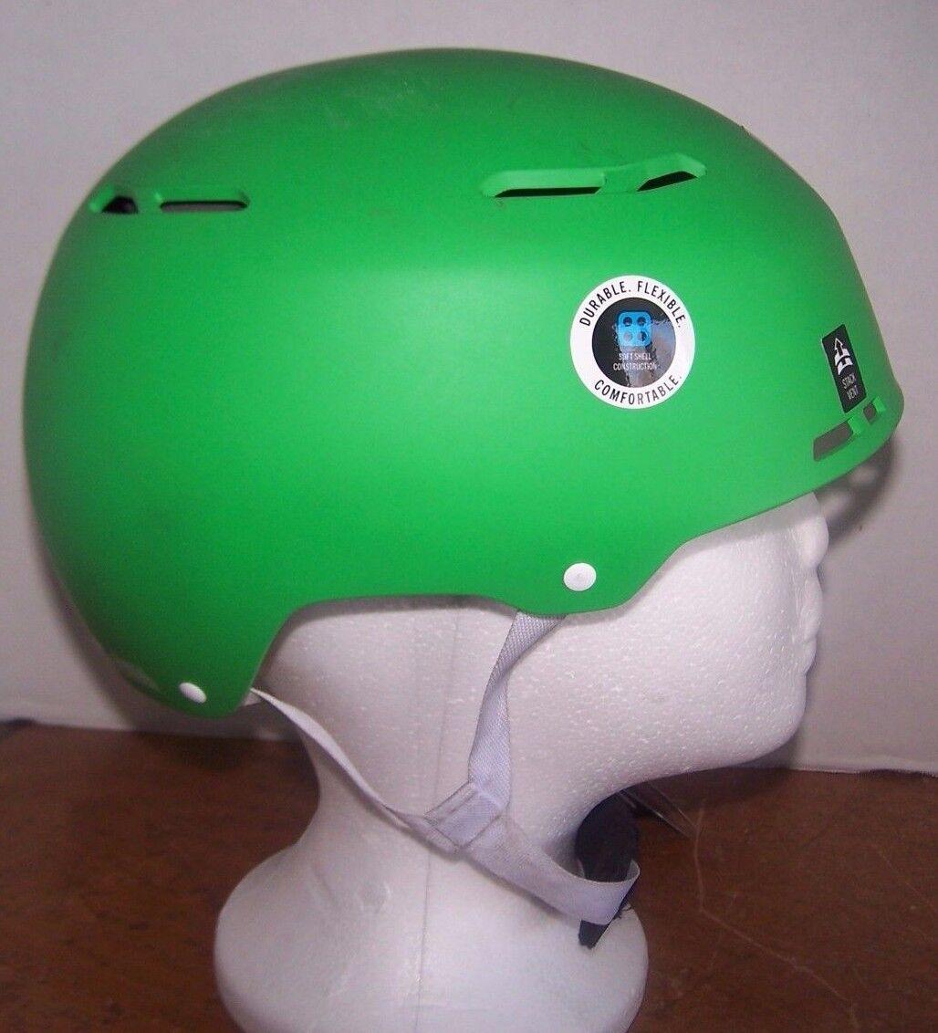 Giro Combyn Snow Board Skiing Helmet Matte Green Size Small 52 - 55.5cm
