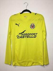 VILLARREAL-2009-2010-HOME-FOOTBALL-SHIRT-Camiseta-De-Futbol-SOCCER-JERSEY-PUMA