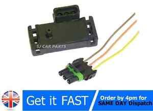 NUOVO 4 BAR MAPPA Sensore Collettore Pressione Turbo 12223861 per GM OPEL SUBARU