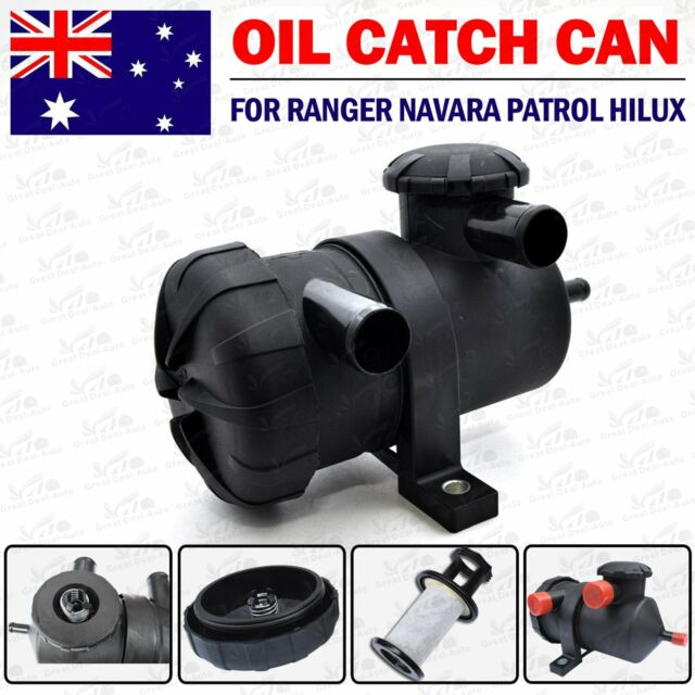 Oil Catch Can Turbo Diesel for Landcruiser Hilux Navara D40 Patrol GU ZD30 4WD