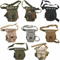 Outdoor For Swat Multi-purpose Military &tactics Cs Leg Drop Utility Thigh Bag