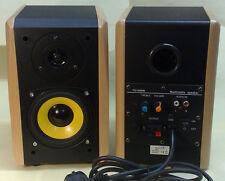 Designer estante boxeo 1 pares 2x30w RMS haya activamente con amplificador 2008c