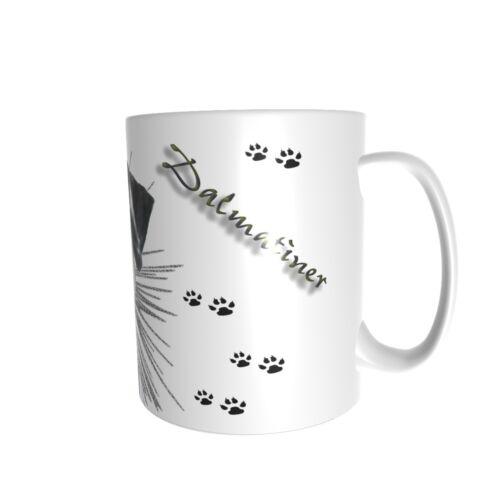 Dalmatiner - Keramiktasse - Kaffeetasse - Hund - Dog-Funtasse
