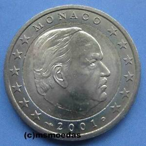 Monaco-2-Euro-Kursmuenze-Fuerst-Rainier-III-o-Albert-II-Euromuenze-coin-Wahl
