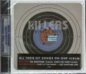 THE-KILLERS-DIRECT-HITS-SEALED-CD-NEW-2013-GREATEST-HITS-BEST