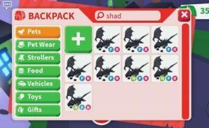 Neon fly ride shadow dragon Adopt Me