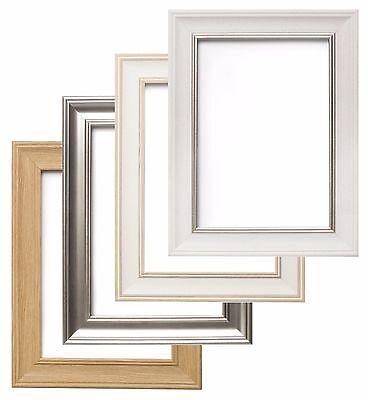 40 x 30 cm Imag Frames by Post London Photo cadre photo chêne avec Noir Mount