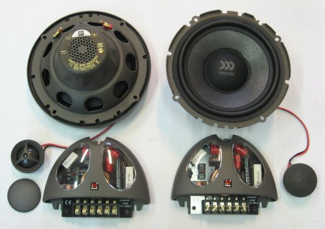 Morel VIRTUS 602 2-Way 6 5in  Car Speakers System