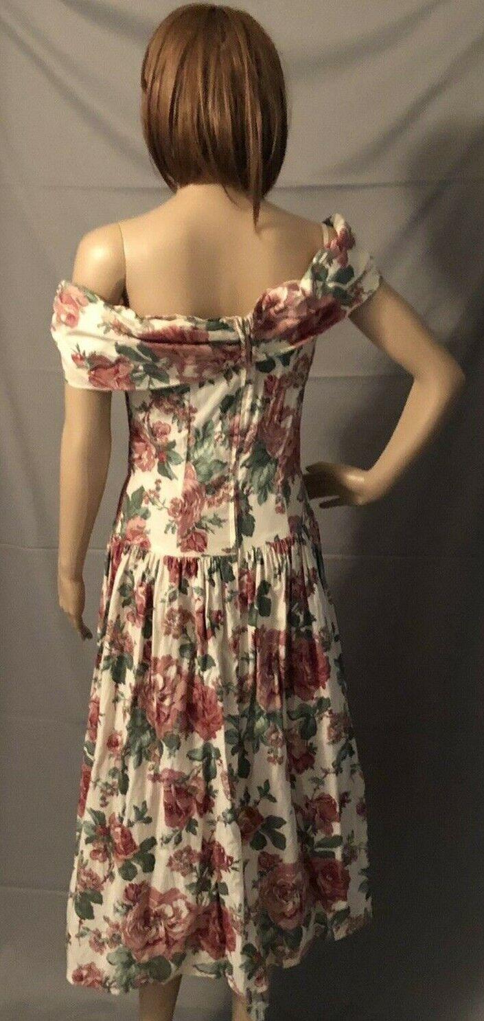 Vintge 1980s Gunne Sax Dress Dillards Dead Stock … - image 3