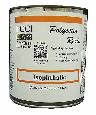 Isophthalic Polyester Resin, 1 Quart 133374