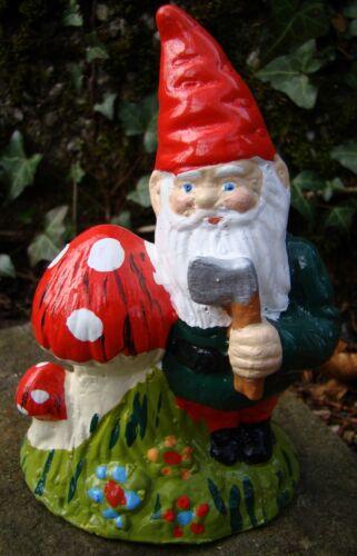 Garden Gnome ~ Norman ~ Handmade by Pixieland Concrete