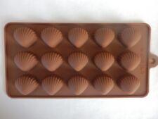 Silicona Conchas de mar molde playa TARTA NUPCIAL chocolate helado Pasta Azúcar