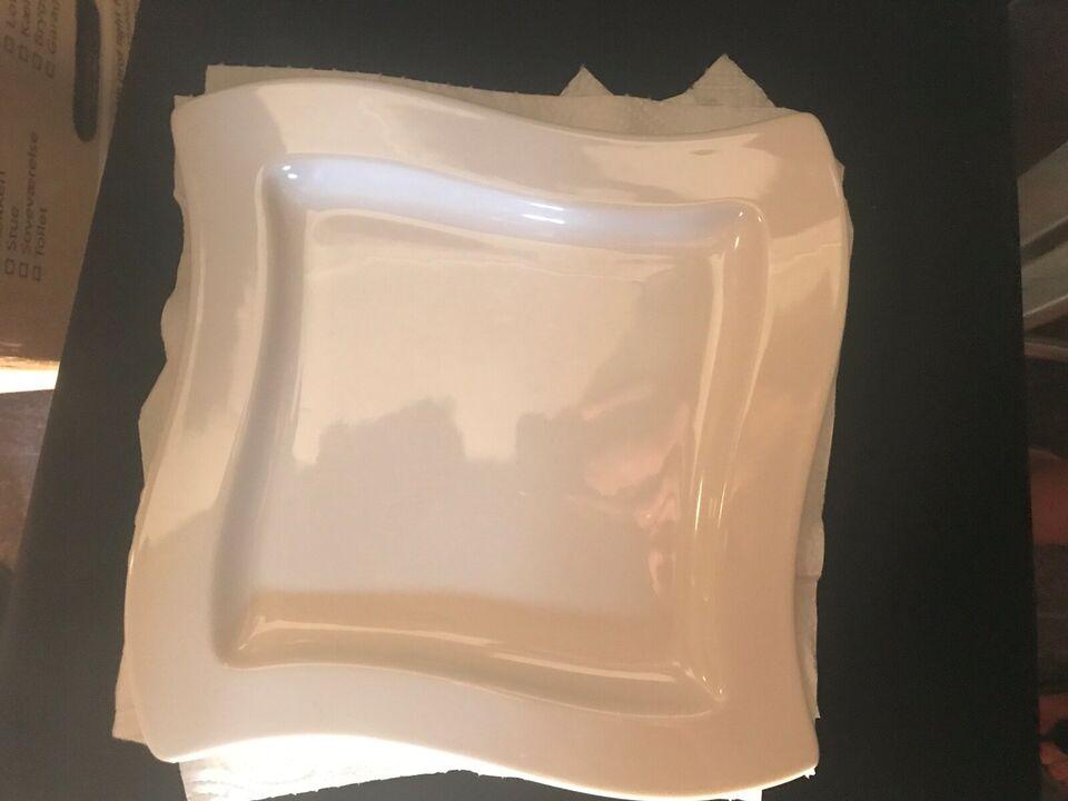Porcelæn, Tallerkner, Villeroy og boch