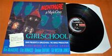 Girlschool - Nightmare At Maple Cross - 1986 UK Vinyl LP