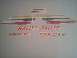 KIT-COMPLET-Stickers-autocollants-Peugeot-207-RALLYE