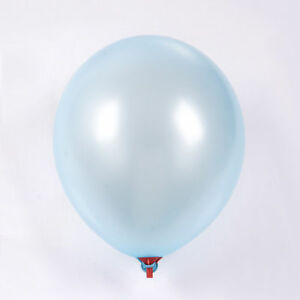 Luz-Bebe-Azul-Metalico-30-5cm-Belbal-globos-Latex-Cumpleanos-Aniversario-Bodas