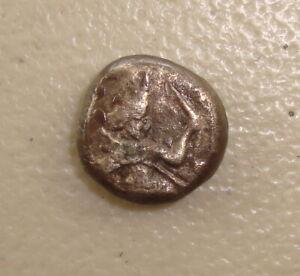 5th Century BC Achaemenid Empire Ancient Greek Silver Siglos F Countermark