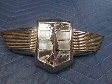 1948 49 Studebaker Hood Grill Emblem Trim Ornament Mascot Xo 519