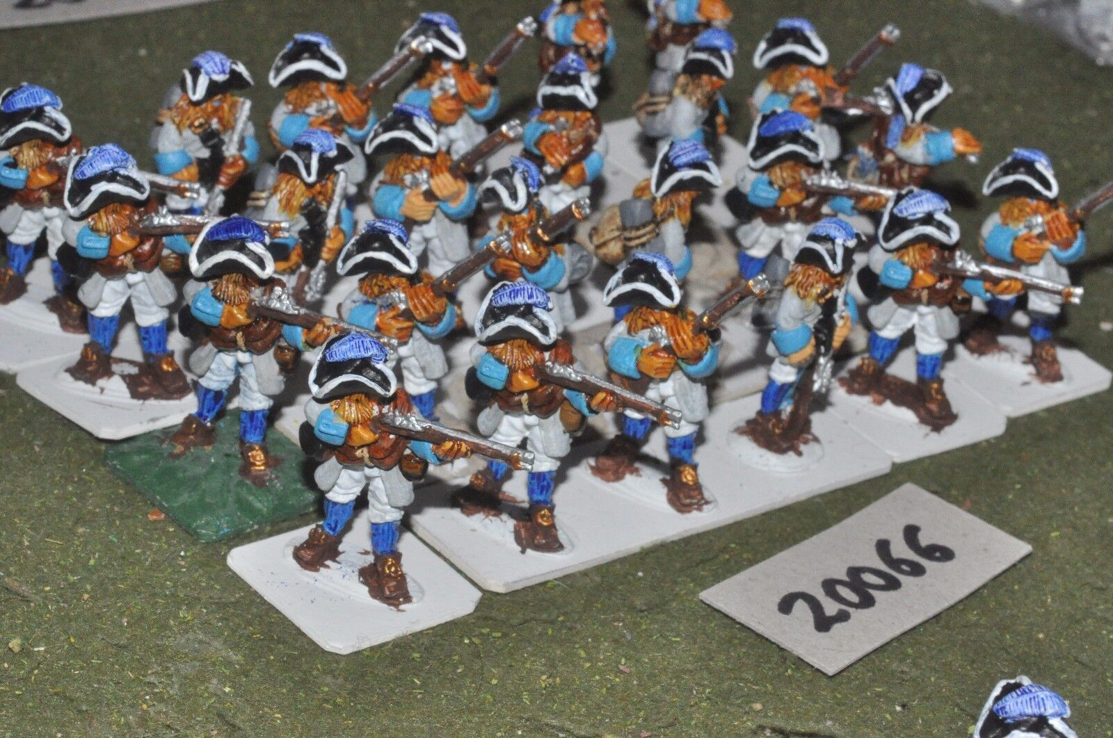 28mm flintloque fantasy elf ferach militia unit 24 figures {16} (20066)