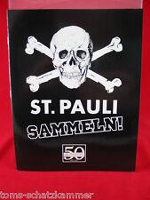 Panini St. Pauli sammeln Album Leeralbum