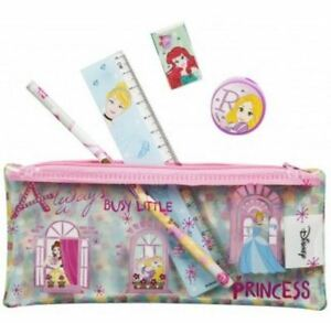 Disney-Princess-5-Piece-Filled-Pencil-Case-Back-To-School