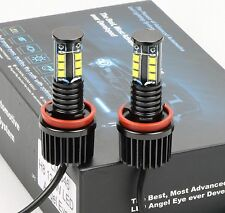 New CREE LED Light 120W H8 6000K HID Xenon Angel Eyes Halo Ring E60 E71 E82 E93