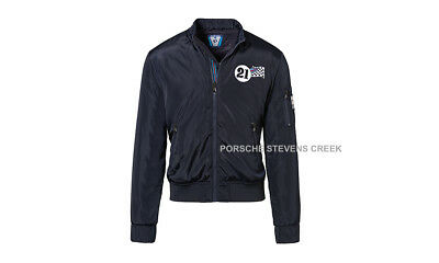 Porsche Men's Women's Jacket Reversible MARTINI RACING S M L XL XXL 3XL Blue