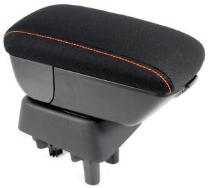new nissan micra k14 centre arm rest fabric orange. Black Bedroom Furniture Sets. Home Design Ideas