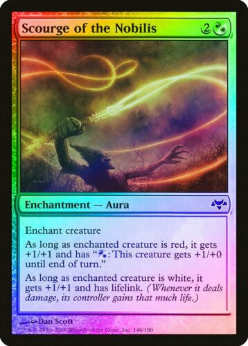 Scourge of the Nobilis FOIL Eventide NM-M White Red Common MAGIC CARD ABUGames