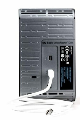 Western Digital My Book Veloci Raptor Duo Enclosure Case Only with a//c Adapter