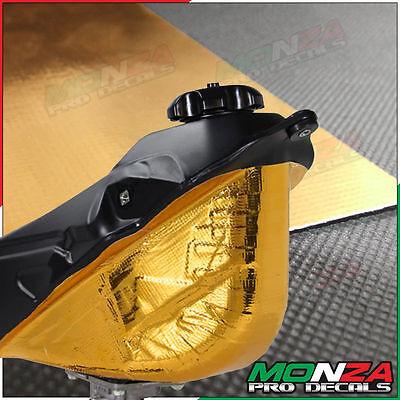 scudo termico riflettente adesivo color oro tessuto per BUELL XB9SX URBANO X