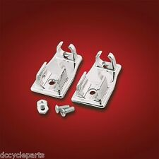 SHOW CHROME 2-494 CHROME EASY CLIP CORD HOLDERS GOLDWING GL1800 GL1500 GL1200
